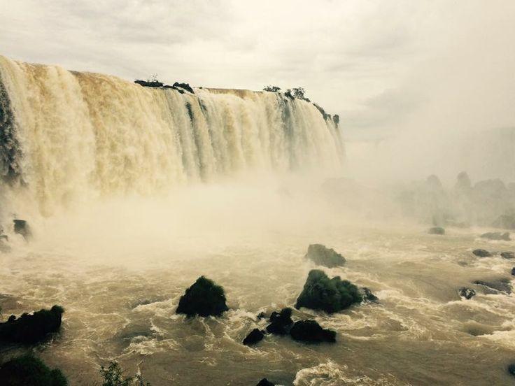 Garganta del diablo, cataratas do Iguazu, Brasil 2014