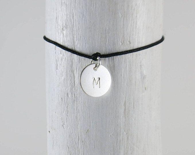 Bracelet with wish letter wish text wish name gift men women girlfriend Girl Mum