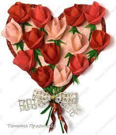 Classe Modellazione Master: Un milione di rose di carta crespa Carta ondulata, tovaglioli 8 marzo, San Valentino, festa della mamma