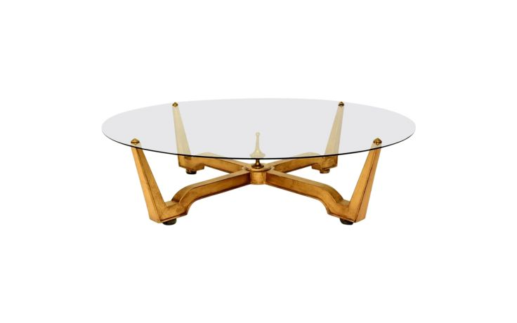 Octavio Vidales Mexican Modernist Large Coffee Table Front