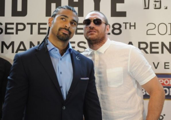 David Haye will now knockout Tyson Fury in the wintertime