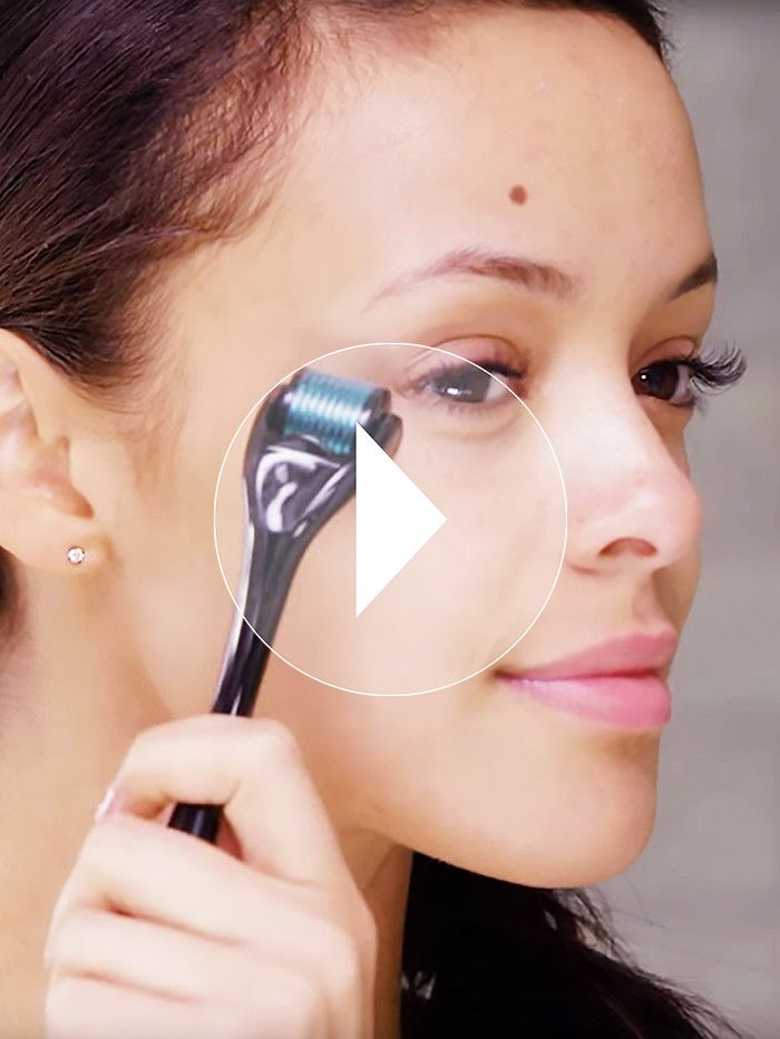 Watch: How to Use a Derma-Roller to Erase Eye Bags, Plump Wrinkles, and More via @ByrdieBeautyAU