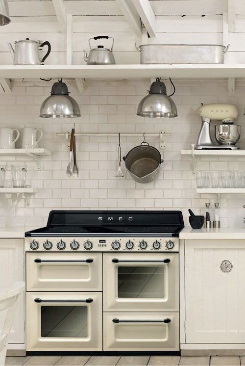 Smeg Victoria 110 Cream Induction Range Cooker