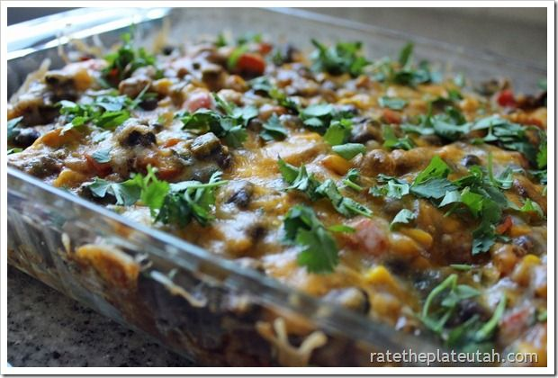 Tex-Mex Enchilada Casserole- Lots of ingredients, but they're common ...