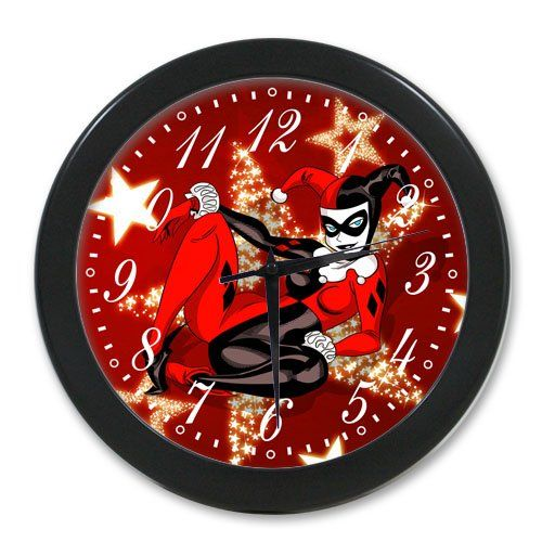 Lause diy Harley Quinn DIY Wall Clock Good GIFT Idea Custom Clock Wall Kitchen * Want additional info? Click on the image.