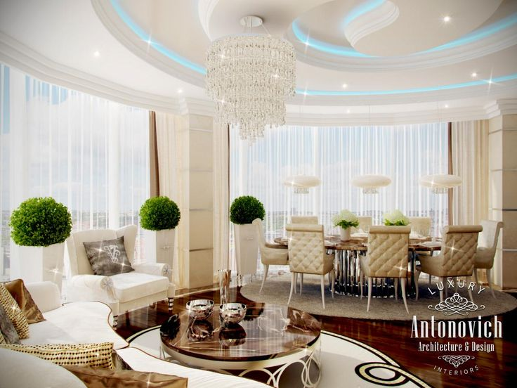 It Was Such A Wonderful Association Formed By Contemplation On Luxury Living Room Interior Of Apartment In Dubai