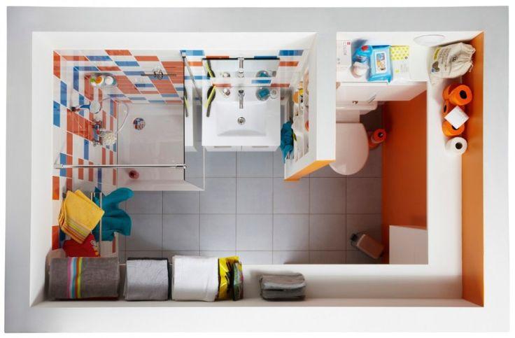 1000 id es propos de salle de bains d 39 or sur pinterest chevrons carrelage en chevrons et - Reactie amenager une petite salle de bain ...