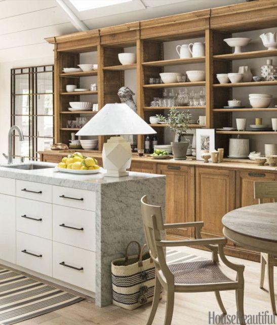 Verandah House: Kitchen Shelf Inspiration