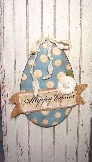 pretty paper Easter Egg by mona | Vintage easter, Easter ...