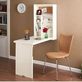 Found it at Wayfair - Adams Fold Out Convertible Floating Desk