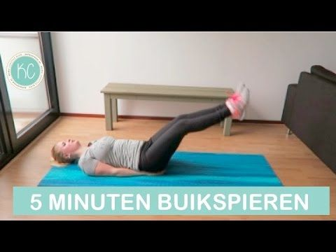 Kelly Caresse | 5 minuten buikspieren workout video! - Kelly Caresse