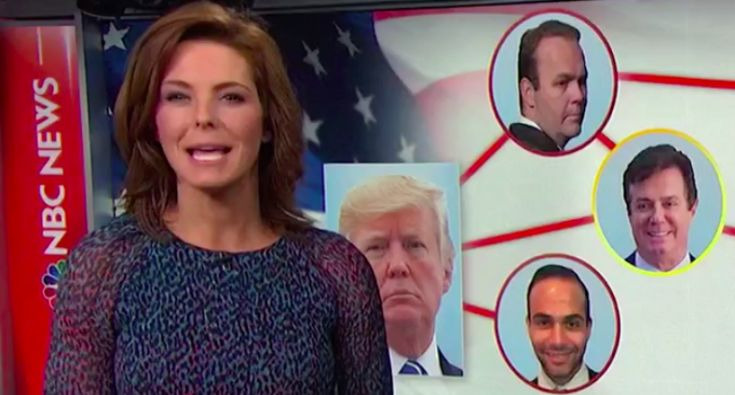 """On Wednesday, MSNBC anchor Stephanie Ruhle laid out how special counsel Robert Mueller's investigation is becoming """"clearer by the indictment."""" Tuesday's guilty plea by Dutch attorney Alex van der Zwaan, she said, reveals direct connections between President Donald Trump and Russian President Vladimir Putin. Van der Zwaan, 33, is married to the daughter of Russian oligarch German Khan, a close Putin confederate and ally. He formerly worked at law firm Skadden, Arps, Slate, Meagher & …"""