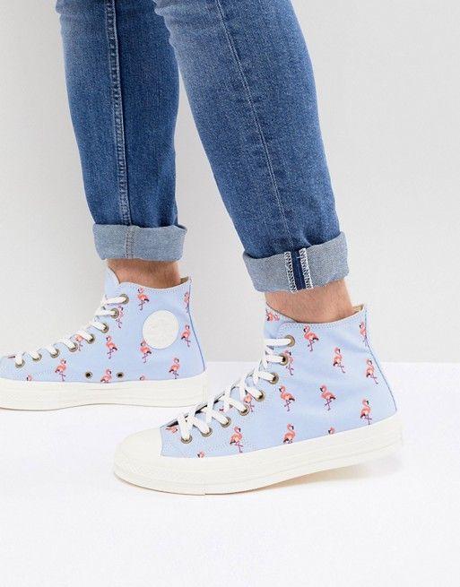 6df374247b9f2 Converse Chuck Taylor All Star  70 Hi Sneakers In Flamingo 160479C ...