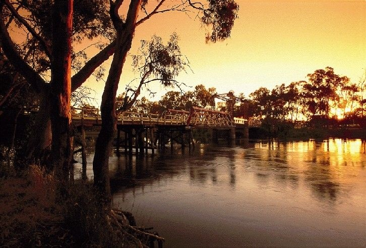 Murray River and the Swan Hill
