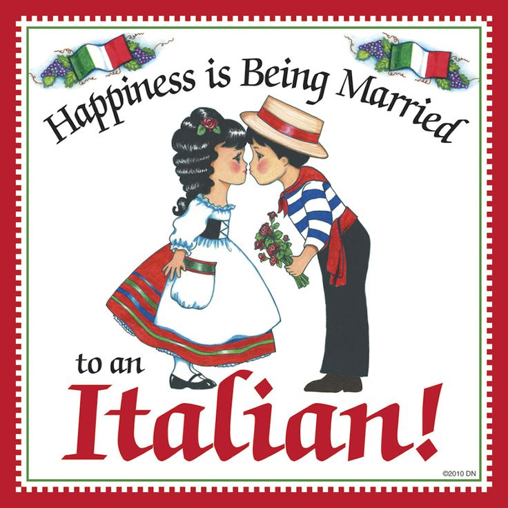 "This charming magnet tile will surely brighten up your kitchen. The unique artwork on this fridge magnet tile will make for an excellent unique Italian gift. This ceramic tile features the saying: ""Ha"