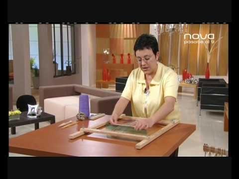 Utilísima Bien Simple, Nova, Cómo tejer en telar con Marian San Martín - YouTube