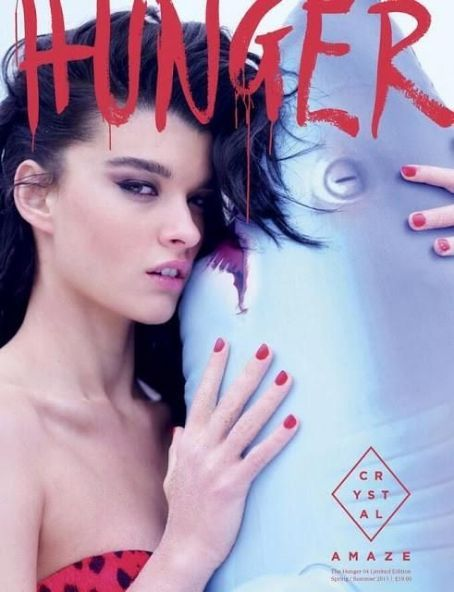 Crystal Renn - Hunger Magazine Cover [United Kingdom] (June 2013)