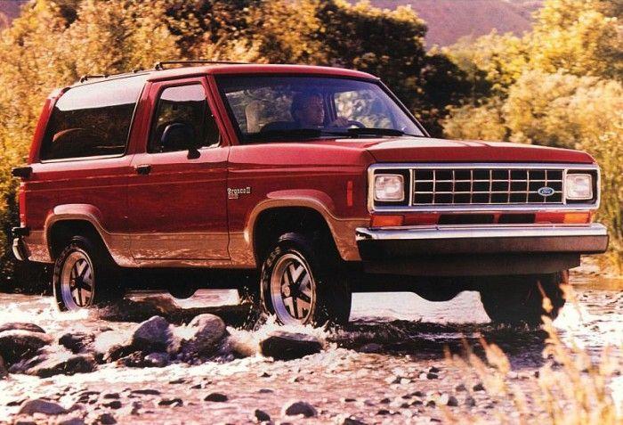 Ford Bronco II - Many of my childhood memories involve cars we had.