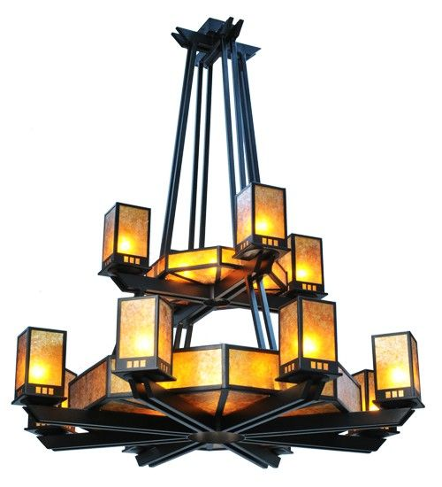 12 Best Craftsman Style Chandeliers Images On Pinterest