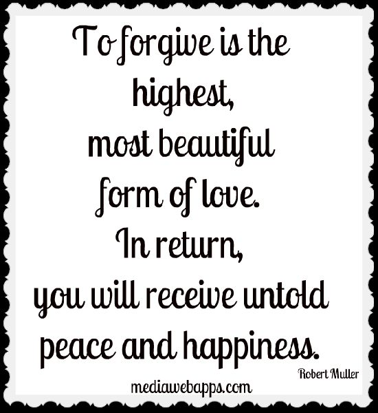 Love in return you will receive untold peace and happiness quotes