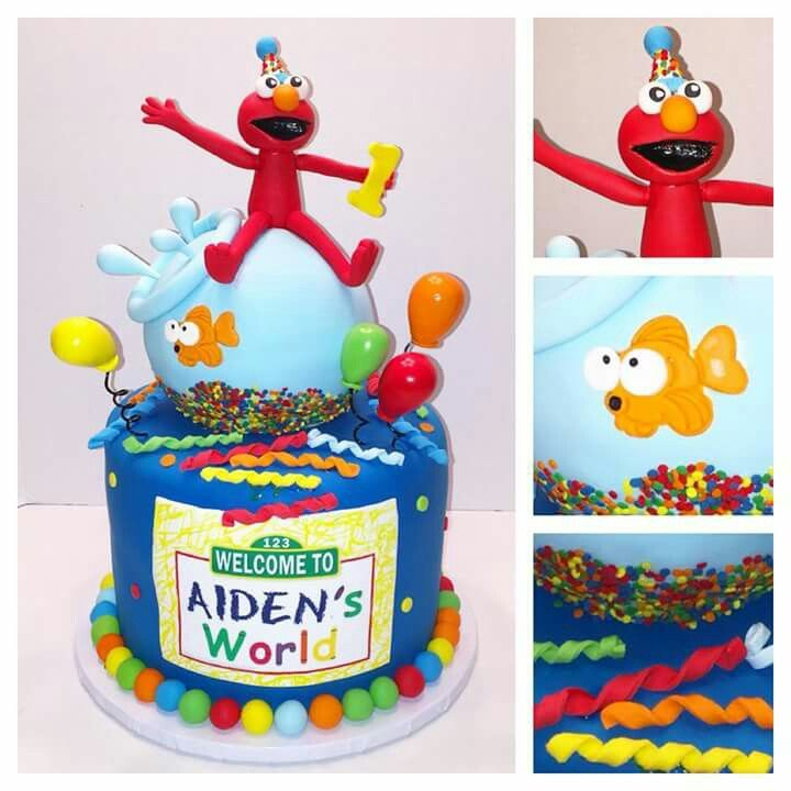 555 best Elmo Cake Ideas for Obeds 3rd Birthday Party images on