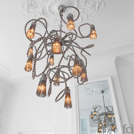 Sultan of Swing SOSCC100N #ChandelierLamp by #BrandVanEgmond. Showroom open 7 days a week.  #fcilondon #furniture_showroom_london #furniture_stores_london #Modern_ChandelierLamp #BrandVanEgmond_furniture #BrandVanEgmond_lighting #Imperial_Elegance