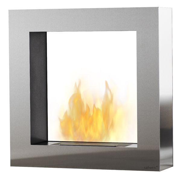 Cubico ST Safretti Fireplace Collection - #Fireplace #InteriorDesign #Fire #Safretti