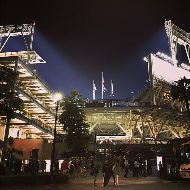 First baseball game tonight! Shame the Padres lost but Petco park is very impressive! #sandiego #padres #baseball #nohomerun #sandiego #sandiegoconnection #sdlocals #sandiegolocals - posted by Daniel Shade https://www.instagram.com/shade30687. See more post on San Diego at http://sdconnection.com