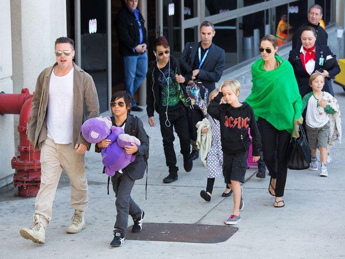 Angelina Jolie y Brad Pitt llegan a un acuerdo temporal sobre la custodia de sus hijos