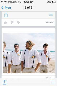Image result for what should a groom wear for a beach wedding