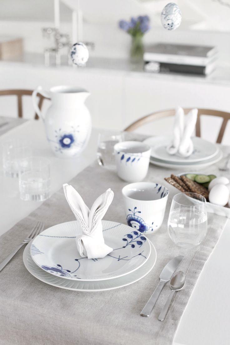 Easter table setting & DIY Eggs