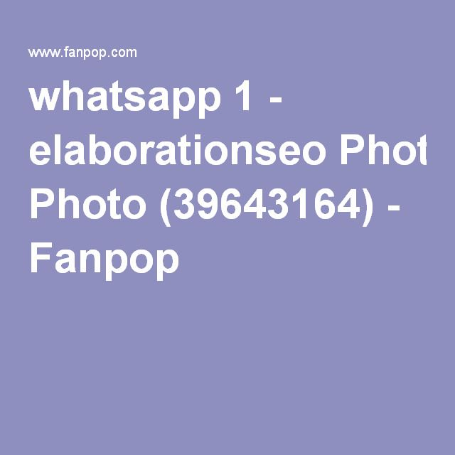 whatsapp 1 - elaborationseo Photo (39643164) - Fanpop