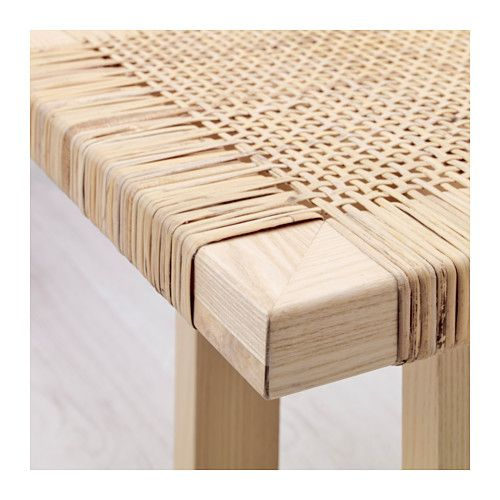 STOCKHOLM 2017 Coffee table, rattan, ash