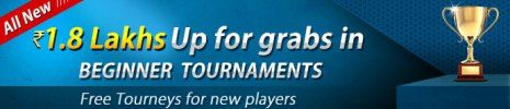 Join this ace2three free tourney and win real prizes in cash.