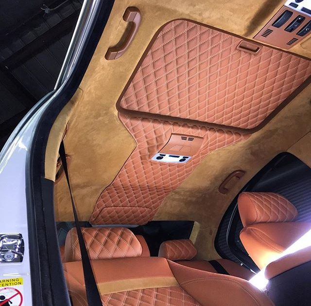 TheHogRing.com --- Check out these awesome headliner projects that trimmers posted on Instagram! #AutoUpholstery #Upholstery #TheHogRing