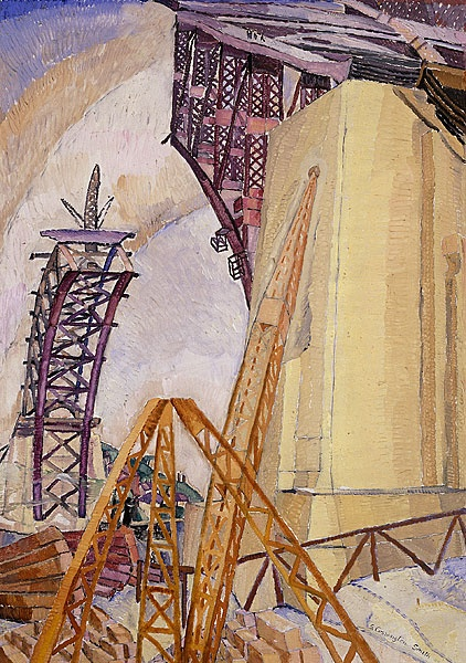Grace Cossington Smith - The Bridge in Building