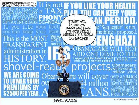 Liar Liar.  Political Cartoons by Michael Ramirez