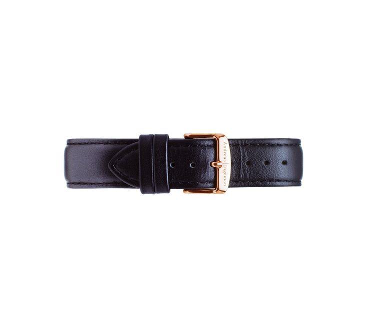 Wristband Black Oslo (pre-order)