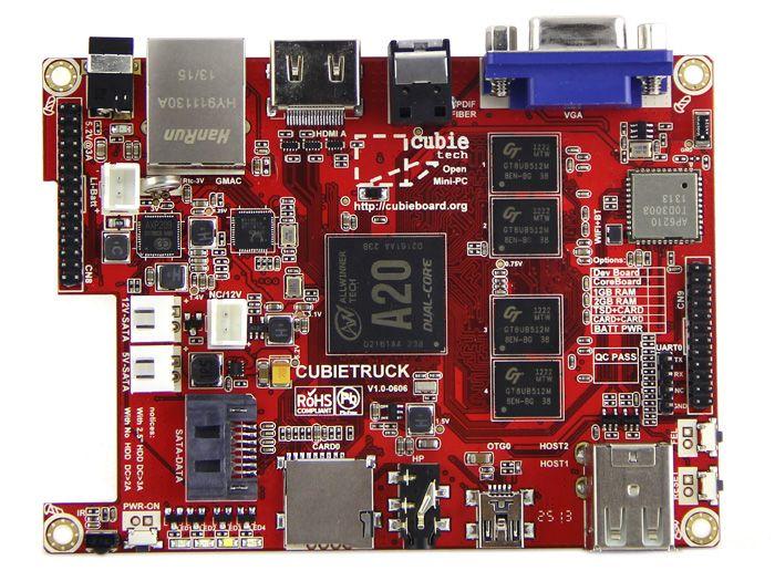 Cubietruck Kit - Dual Core Single-board Computer