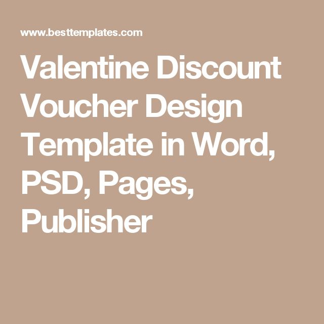 The 25+ best Voucher template word ideas on Pinterest Gift - gift voucher format