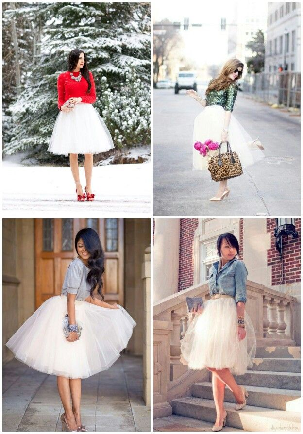 Wear tulle , whaterver the weather !