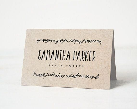 8 Wedding Anniversary Gift Outdoorweddingsnearme Product Id 7892820974 Weddings Wedding Name Cards Wedding Name Tags Place Card Template