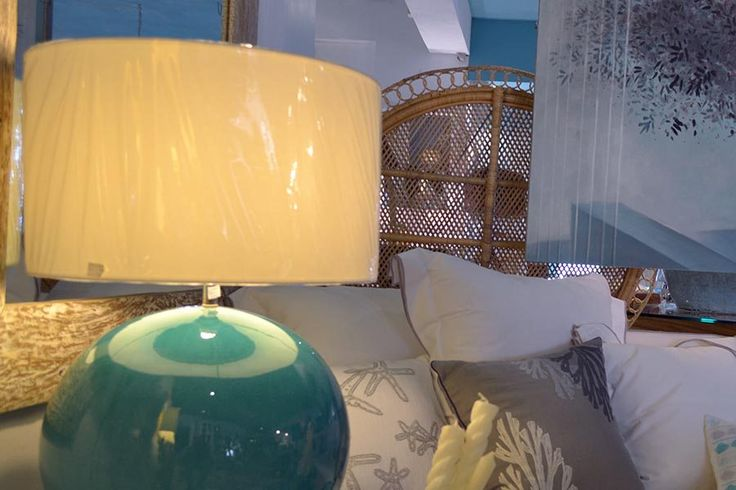 Turquoise Lamp , Play with the light. This is our moto at Chora Art Home…