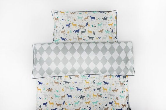 Double sided bedding from Nukko Design is made out of 100% high quality cotton…