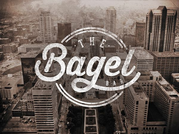 The Bagel Bar | Branding on Behance