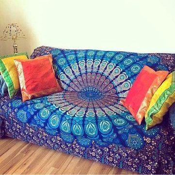 square mandala tapestry hippie indian bohemian tapestries scarf wrap shawl beach cover up hanging wall towel throw blanket mat the 25  best beach style futon covers ideas on pinterest   beach      rh   pinterest   au