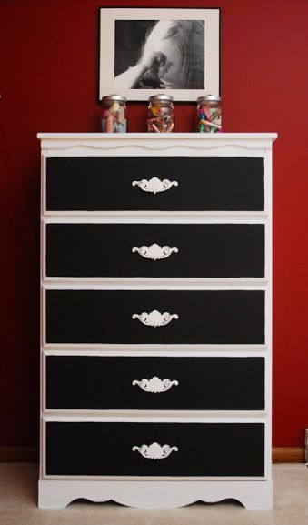 Thinking of painting our nightstands like this