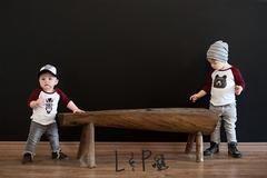 Chandail style baseball pour bébés/enfants