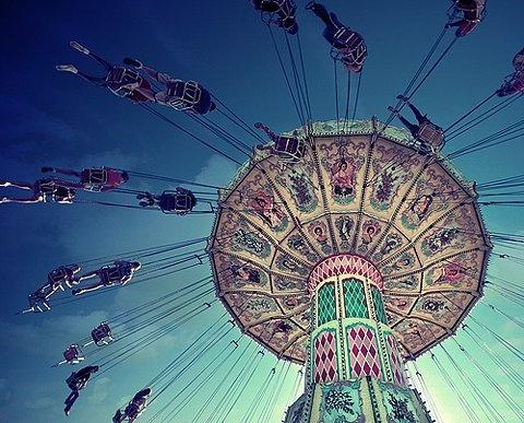 carnivalVintage Carnivals, Swings, Amusement Parks, Children, Kids, Fun, Cool Pics, Carnivals Riding, Photography