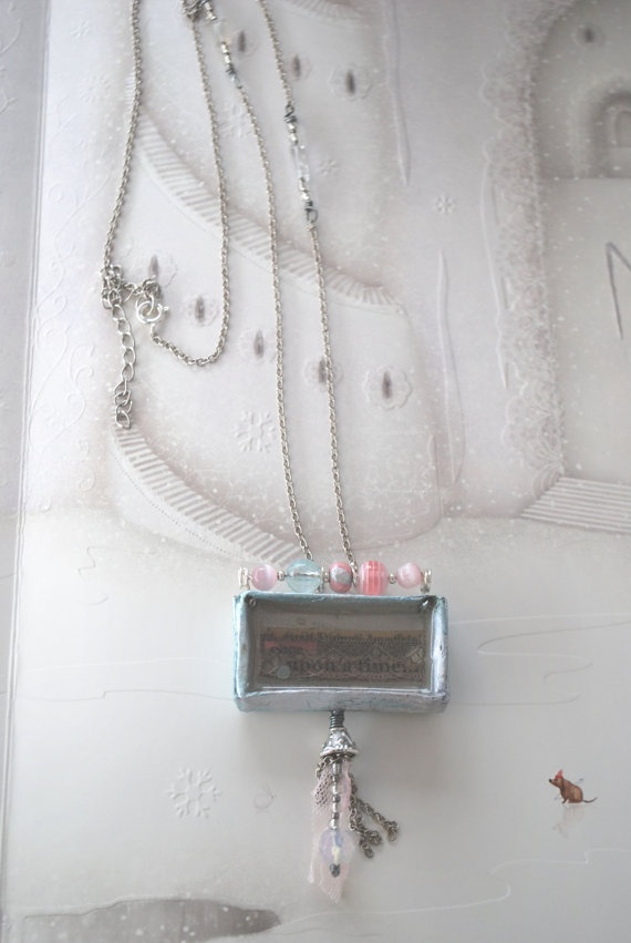 Pendant Necklace-Matchbox 08, $69